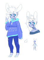 Anthro Pixel Doodle Auction Adopt 6 [closed] by OperaHouseGhost