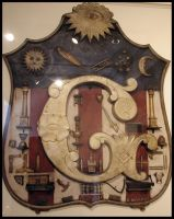 Masonic Shield by SpiderSong