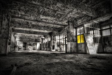 abandoned hall by Niceshoot