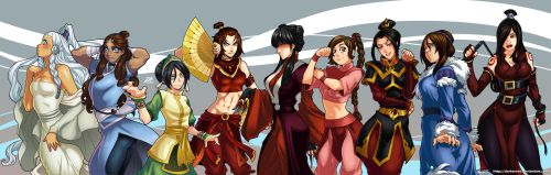 Women of Avatar by DarkerEve