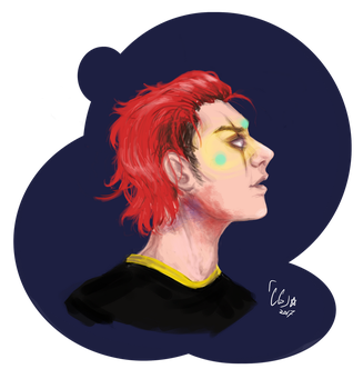 party poison doodle by Cgryder7