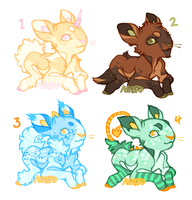 Pipsqueaks offer to adopt by Hauket
