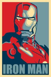 Iron Man Hope Poster Mark 2 by djbowen