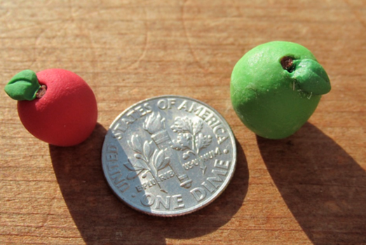 Polymer Clay Apples by Sophie02