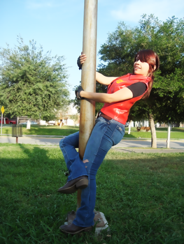 Claire Redfield, funny memories by VickyxRedfield