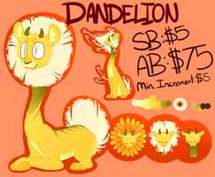 [AUCTION ADOPT - closed] Dandy Lion by shujuju
