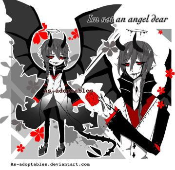yandere demon adoptable CLOSED by AS-Adoptables