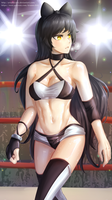 Wrestling Costume Blake Belladonna by ARSONicARTZ