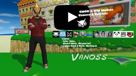 GMOD and SFM Vanoss and Friends - Vanoss by FatalitySonic2