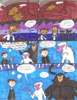 Black Panther: Laika Shenanigans by Scared2dream