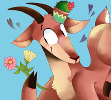 Flowers and Hooves by cayotze