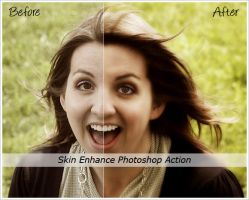 Skin Enhance Action by cazcastalla