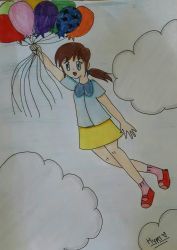 Up in the sky by hypermanga