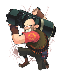 TeamFortress2 NatureReborn's commissions by Gashi-gashi