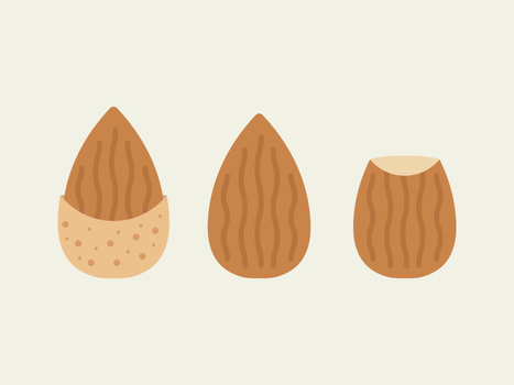 Almonds by apparate