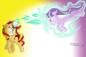 Sunset vs Starlight #1 by TheAljavis