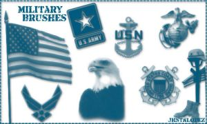 military logos and more by jhstnlopez