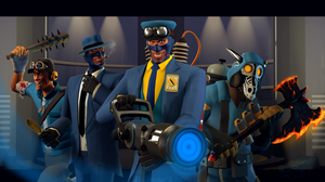 {SFM} Blutard Squad (4 Bios in 1) by GreenStorm64