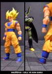 Cell vs Goku Part 1 - p1 by SUnicron