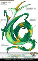 Pokedex 497 - Serperior FR