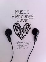 Music Produces Love by JustMiracleZ