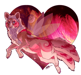 Fairy Space Wolf by ThatxDamnxGirl