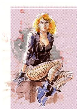 Black Canary by Cinar