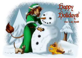 Happy Holidays 2015 by LadyRosse