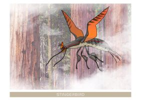 SOPHONTS: Stingerbird by juniorWoodchuck