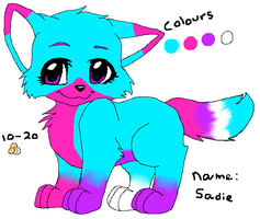 another adoptable :) (name your price) by Bubblegumartt