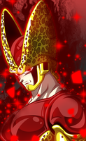 Golden/God Form Perfect Cell! by FlameXSilver