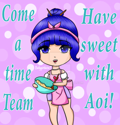 Join Team Aoi! by Nica-Arts