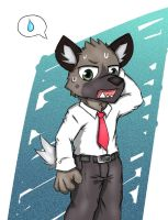 Haida from Aggretsuko by Plasticer