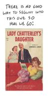 Ugly Book Covers: Lady Chatterlys' Daughter by RomanJones