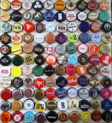 110 Bottlecaps, Collection Number 3 by WhiteBoneDemon