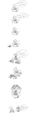 Papyrus needs spaghetti by Chaosreign