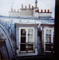 HOLGA - Toits de Paris by Limouni