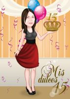 My sweet 15 by NataliaBenavides