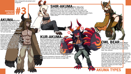 Monster Musume+: Akuma Species by Dragonith