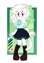 [POINT ADOPT] ALBINO FERRET [CLOSED] by DingoDy