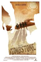 Tombstone Movie Poster by OllieBoyd