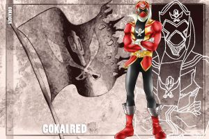Gokai Red by Duhast80