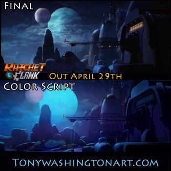Ratchet and Clank Color Script 1 by Tonywash