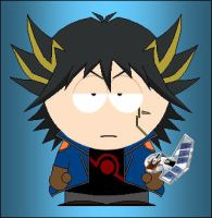South Park Yusei by grimmjack