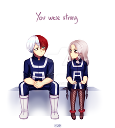 [BNHA OC] you were strong by TheRiiko
