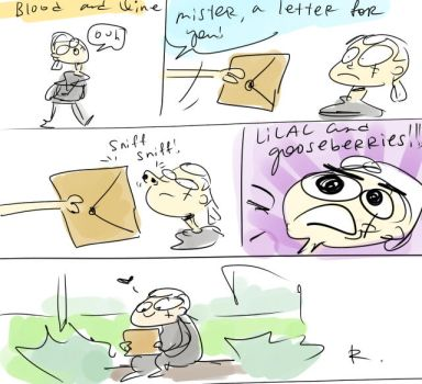 The Witcher 3, doodles 77 by Ayej