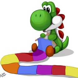 Wooly Yoshi by Aakami