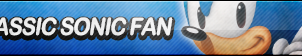 Classic Sonic Fan Button (Resubmit) by ButtonsMaker