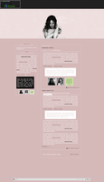 Rihanna - Needed me design pack for G-Portal sites by for24hours