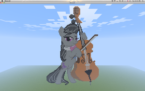 Minecraft Pixel - Octavia by Gem-A-Knight